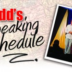 Todds speaking schedule