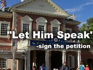Petition – Let Him Speak